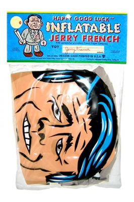 Jerry French inflatable doll